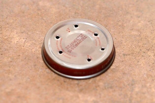 Bẫy ruồi tự chế bằng nắp chai - B1