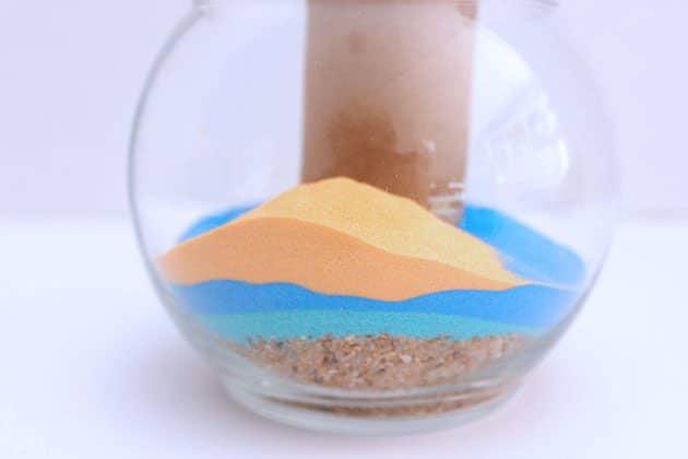 Vẽ đảo bằng cát