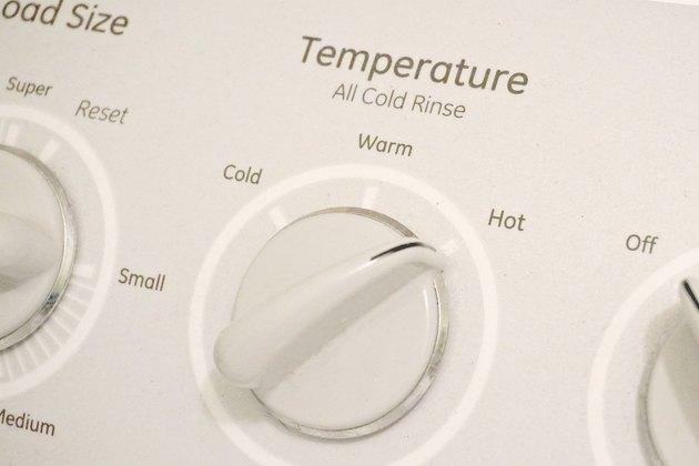 Chỉnh máy giặt sang nước nóng