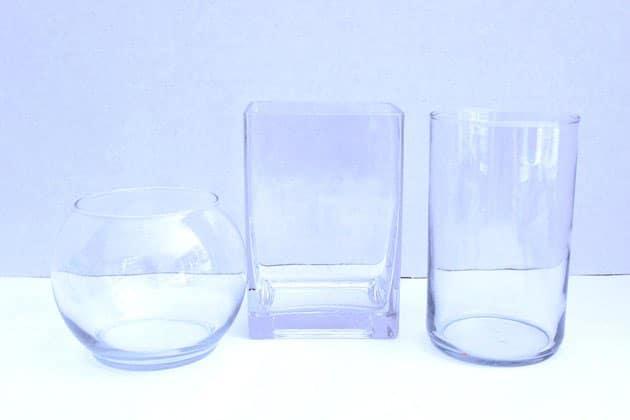 Chọn hình dạng bình chứa