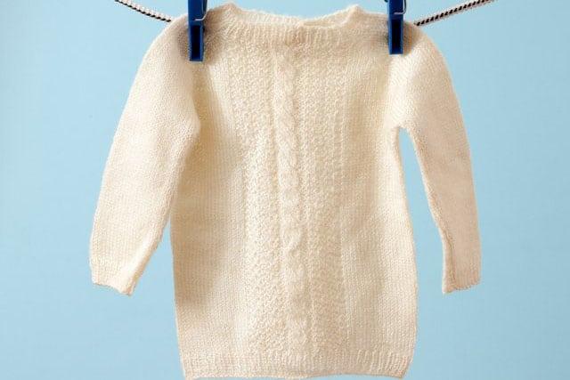 Phục hồi kích thước quần áo bằng dầu gội trẻ em