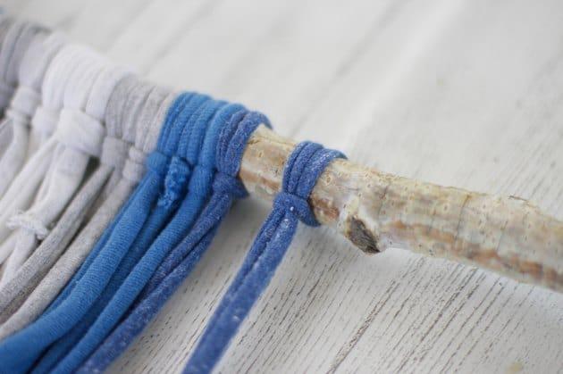 Thắt sợi vải cố định dây